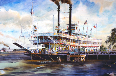 """River Steamboats"""
