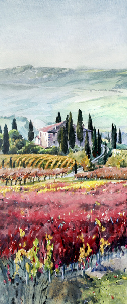 """Tuscan Fields"""