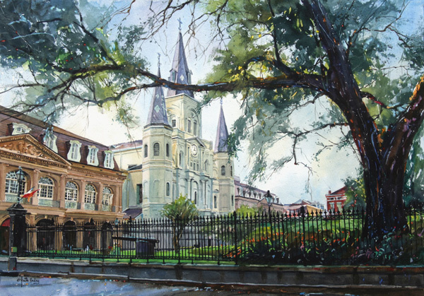 """Heart of the French Quarter"""